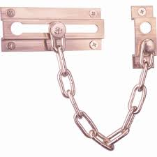 Door Lock Chain Chain Locks Door Security The Home Depot