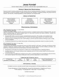 Make Product Marketing Manager Resume Template Cover Letter For