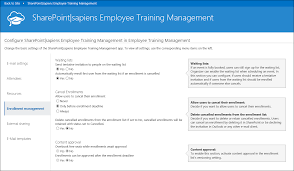 Employee Training Management Employee Training Management For Office 365 Configuration