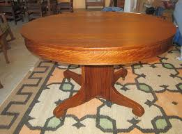antique round oak dining table antiques a home a antiques a new mission oak furniture a antique round oak dining table