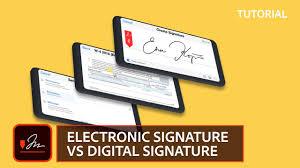 Electronic Signature Vs Digital Signature Adobe Sign