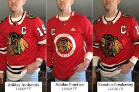 How Do Nhl Jerseys Fit Our 2019 Size Guide W Photos