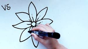 Small Picture 18 Kids Tutorial How to Draw a Flower B in 2 Minutes