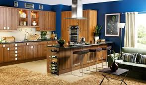 blue kitchen wall colors. Perfect Blue Amazing Of Blue Kitchen Walls Wall Ideas Quicua Throughout Colors
