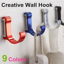 colorful coat hooks. Elegant Buy New Space Aluminum Metal Unique Modern Wall Coat Hooks For Bathroom Kitchen Colors From Reliable And Hat Stand Suppliers On With Colorful