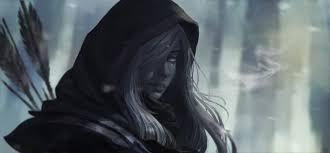 drow ranger white hair dota 2 arrow wallpaper and background