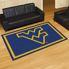 fan mats wvu west virginia university mountaineers x area rug football rugs field sports themed and outdoor roselawnlutheran dining cabin room rustic