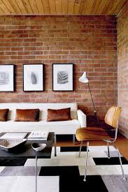 Image Brown The Brick Living Room Furniture With 20 Exposed Brick Walls In Modern Living Rooms Rilane Losangeleseventplanninginfo The Brick Living Room Furniture With 20 Expos 5978