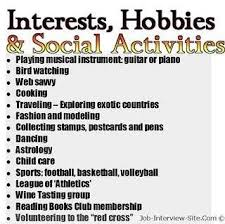 examples of hobbies and interests on resume  interests to put on    examples personal  examples examples  examples resume  list hobbies  hobbies interests  special interests  personal interests  resume hobbies  resume
