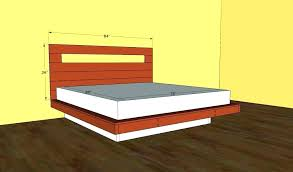 diy floating bed frame with led lighting how to make a floating bed with lights magnetic