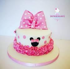 Minnie Mouse Birthday Cake Birthday Cakes Cakes For Children