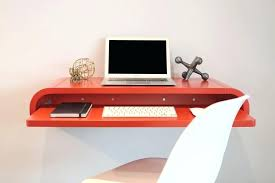 homcom floating wall mount office computer desk. Floating Wall Desk Minimal Homcom Mount Office Computer With Storage S