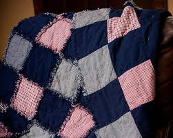 35+ Snuggly Free Rag Quilt Patterns | FaveQuilts.com & Fuss Free Rag Quilt Adamdwight.com