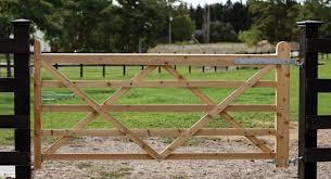 free diy wood gate plans