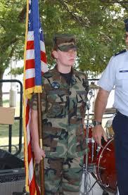 Us Air Force Usaf Staff Sergeant Ssgt Melissa Mercer Left An