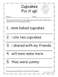 End Punctuation Worksheets for Middle School | Homeshealth.info