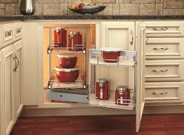 image of corner kitchen cabinet decor