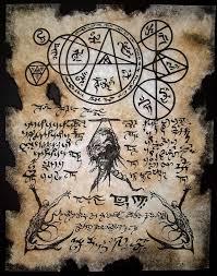 cthulhu larp necromancers dark art necronomicon occult magick zombie horror ebay