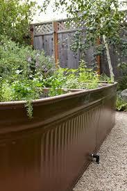 steal this look water troughs as raised garden beds steel garden beds