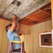 corrugated metal ceiling ideas corrugated metal ceiling corrugated metal basement ceiling ideas