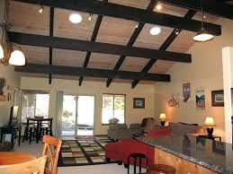 open beam ceiling lighting. Lighting For Beamed Ceilings. Exposed Ceiling Full Image Beam Ideas Open Decoration Beams .