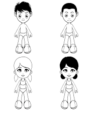 Small Picture Paper Doll Coloring Book iPhone iPad and iPod app