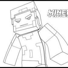 Herobrine Coloring Pages Coloring