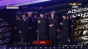 Gaon Chart Kpop Awards 2015 Exo Wins The Mobile Vote Award At The 3rd Gaon Chart Kpop