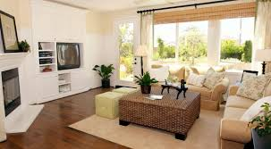 Rattan Living Room Furniture Living Room Contemporary Living Room Curtains With Creamy White