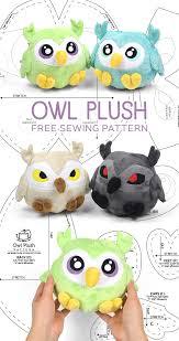 Owl Pattern Interesting Free Pattern Friday Owl Plush Choly Knight