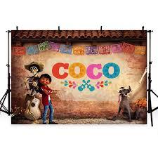 2019 <b>MEHOFOTO Coco Birthday Photo</b> Backdrops Children Party ...
