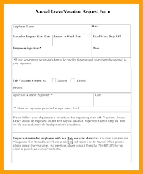 vacation forms for employees leave request forms templates inspirational template marketing form