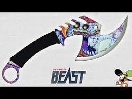 Megaknife Blue Tactical Knife Set - YouTube