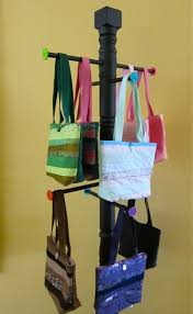 Handbag Display Stands Cool Purse Display Stand A Great Idea For My Vintage Bags And Totes