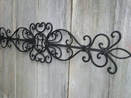 2018 wrought iron garden wall art with wall arts garden wall art metal adelaide metal on garden wall art metal adelaide with image gallery of wrought iron garden wall art view 8 of 15 photos