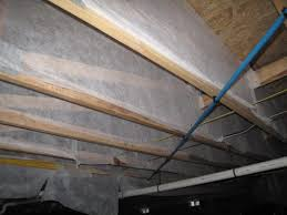 insulation for crawl space ceiling. Interesting Space The Freas Crawl Space Is Ventilated And It Has An Insulated Ceiling  Blownin Fiberglass I Am Attaching A Photo Of The Floor Joists In  For Insulation Crawl Space Ceiling R