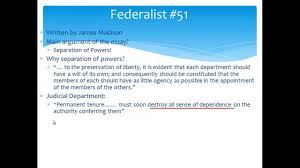 ap gov review the federalist papers and