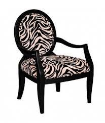 zebra arm chair. Zebra Print Oval Back Accent Arm Chair
