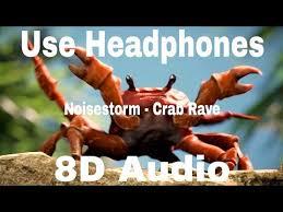 noisestorm crab rave 8d audio official