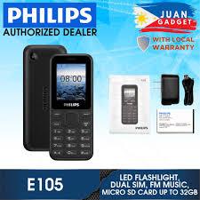 Philips Xenium E105 Basic Mobile Dual ...