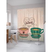 Шторка для ванной <b>Чайная пара 180х200</b> см в Москве – купить по ...