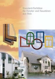 Standard Farbtöne Für Fenster Und Haustüren Aus Holz