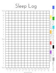 Sleep Chart Template Exhaustive Sleep Chart Template For Adults How To Get A