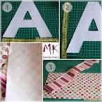 Сшить объемные буквы своими руками схемы