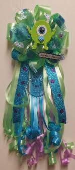 Monster Inc Baby Shower Decorations Adrianas Creations Boy Theme Corsages