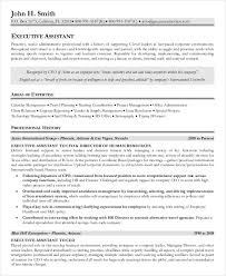 Senior Administrative Assistant Resume Sample Nmdnconference Com