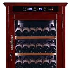 Wine Bottle Storage Angle Wine Cooler Cabinet Refrigerator Temperature Controlled Cabinet