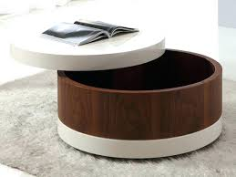 small round coffee tables small round storage ottoman amazing round coffee table with storage ottomans best
