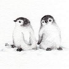 penguin drawings in pencil. Interesting Pencil Pencil Drawings Of Penguins  Buscar Con Google On Penguin Drawings In Pencil C