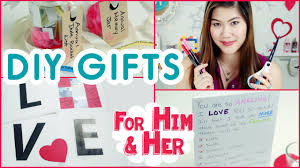 diy anniversary gifts or valentine s day gifts for him or her decorateyou